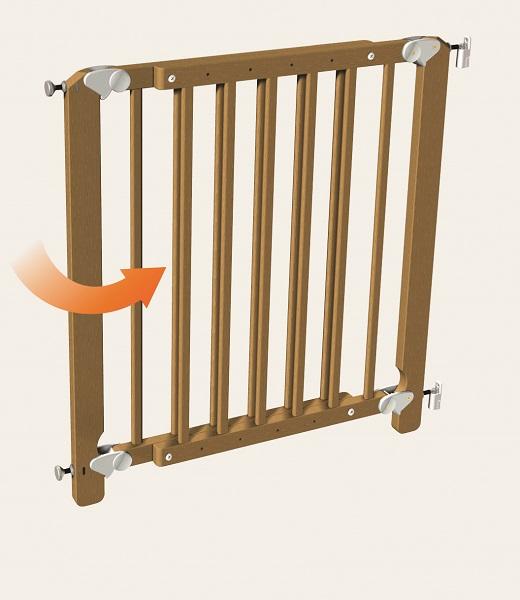 Ворота безопасности для лестницы своими руками 300